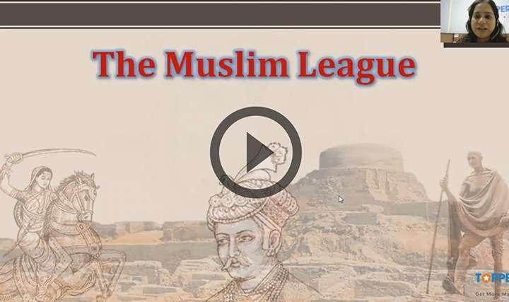 The Muslim League - The Muslim League