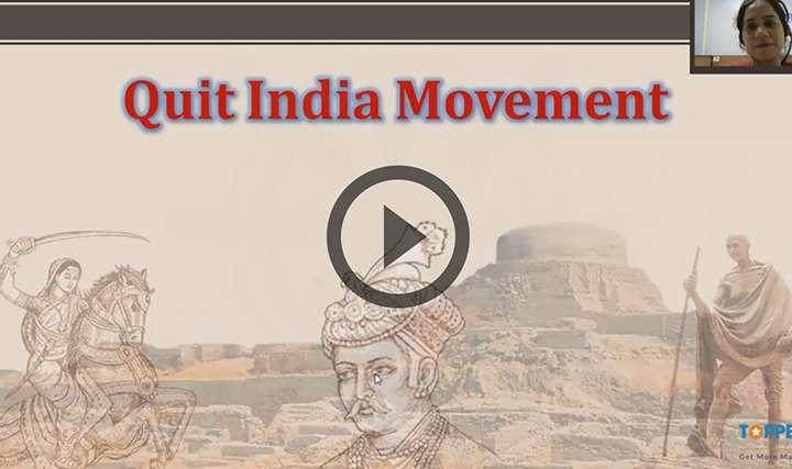 Quit India Movement - Quit India Movement