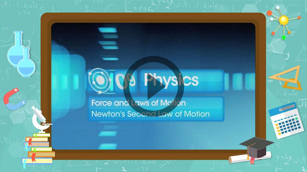 Force and Laws of Motion - Relation between Newton's First and Second Laws of Motion