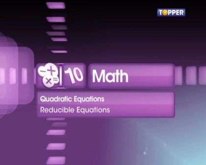 Word Problems in Quadratic Equations -