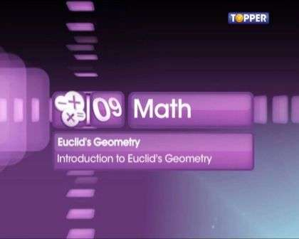 Introduction to Euclid's Geometry