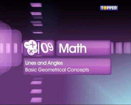 Basic Concepts of Geometry ,Lines and Angles - Notes, Questions