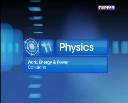 Work, Energy and Power - Collisions - Part 1