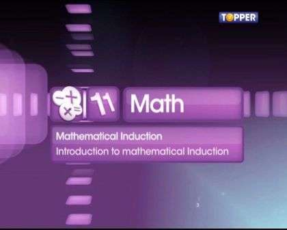 Introtoduction to math Induction -