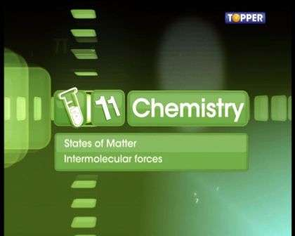 States of Matter - Intermolecular Forces - Part 1
