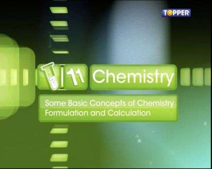 Basic Concepts of Chemistry - Percentage Composition and Empirical Formula - Part 1