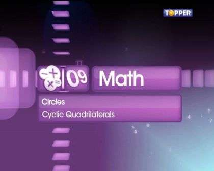 Cyclic Quadrilaterals