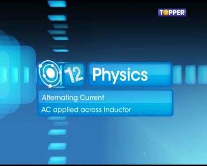 AC Applied Across Inductor - Part 1 -