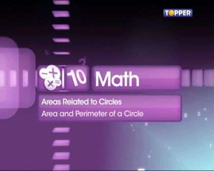 Area and Perimeter of a circle -