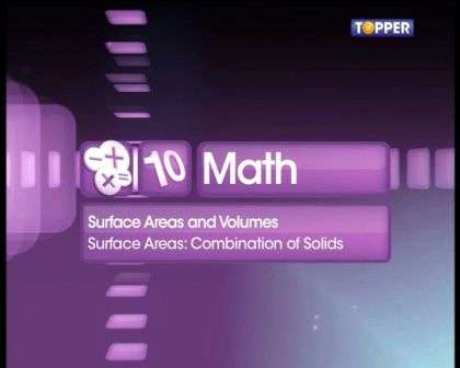 Concepts and problem solving related to combination of solids -