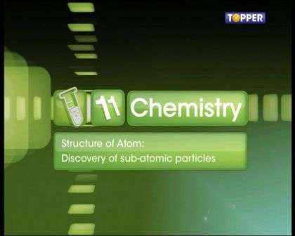 Structure of Atom - Discovery of Subatomic Particles