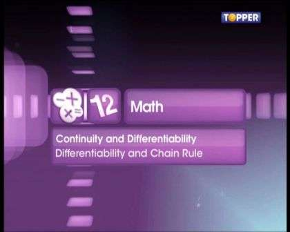 Differentiability and Chain Rule
