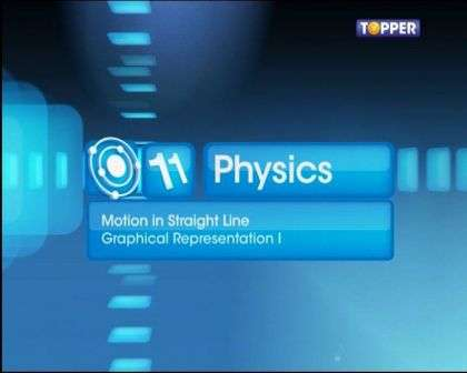 Motion in a Straight Line - Graphical Representation - 1