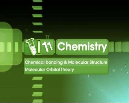 Chemical Bonding and Molecular Structure - Molecular Orbital Theory - Part 1