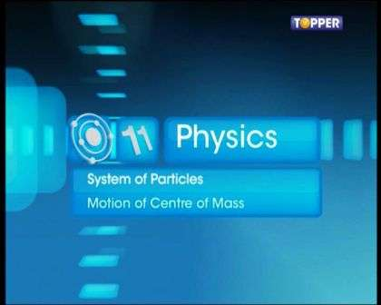 Systems of Particles and Rotational Motion - Motion of Centre of Mass - Part 1
