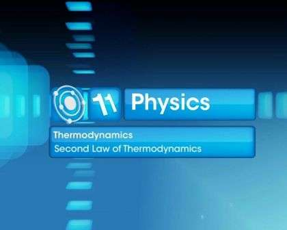Second Law of Thermodynamics - Part 1 - Second Law of Thermodynamics - Part 1