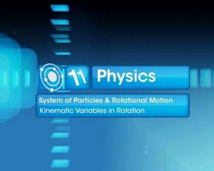 Systems of Particles and Rotational Motion - Kinematic Variables in Rotation - Part 1