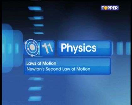 Laws of Motion - Newton's Second Law of Motion