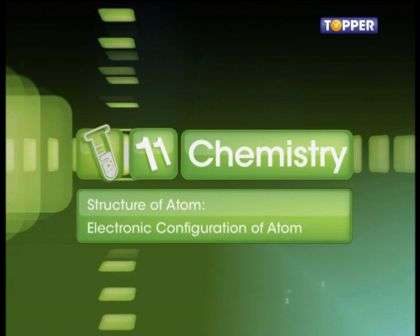 Structure of Atom - Electronic Configurations of Atoms - Part 1