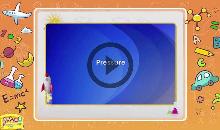 Force and Pressure - Pressure