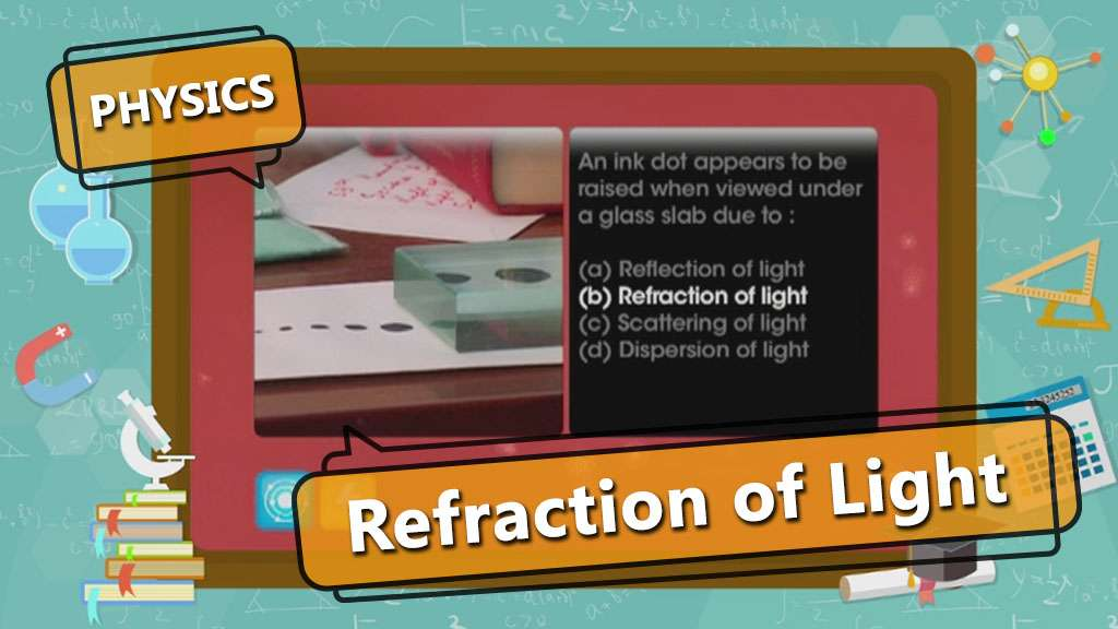Refraction of Light - Laws of Refraction of Light (Snell's Law)