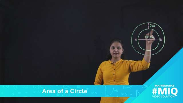 Area of a circle -
