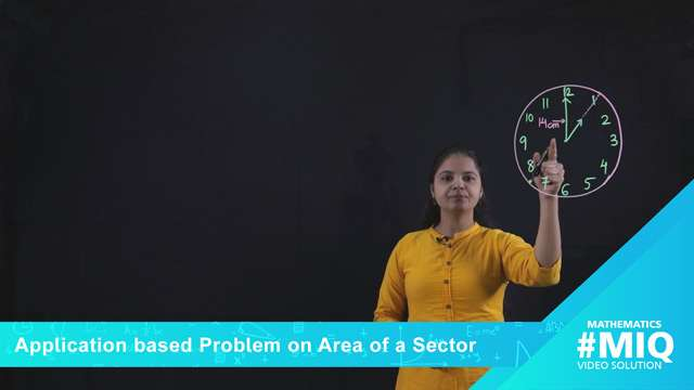 Application based problem on area of a sector -
