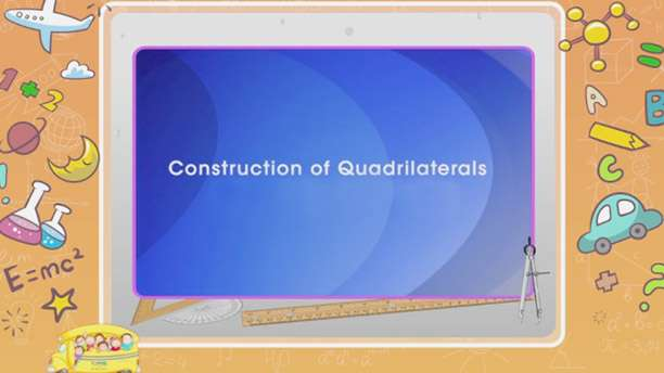 Construction of quadrilaterals -