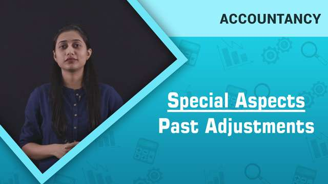 Special Aspects: Past Adjustments -