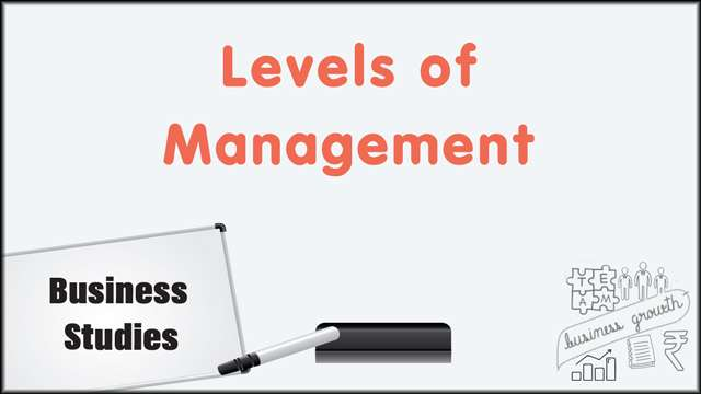 Levels of Management -