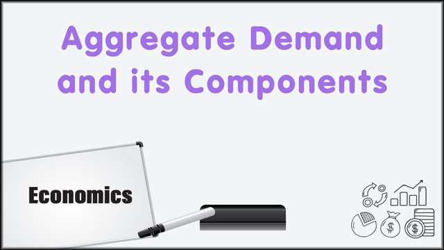 Aggregate Demand and its components -