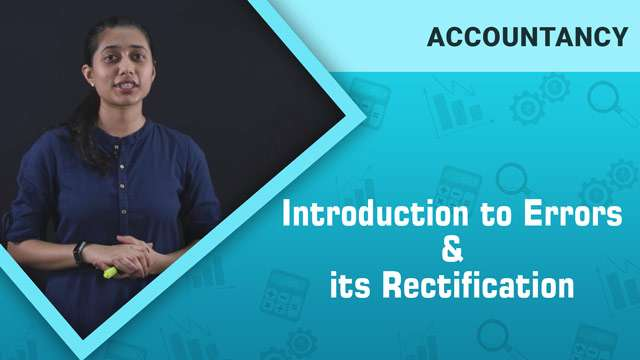 Introduction to Errors and its Rectification -