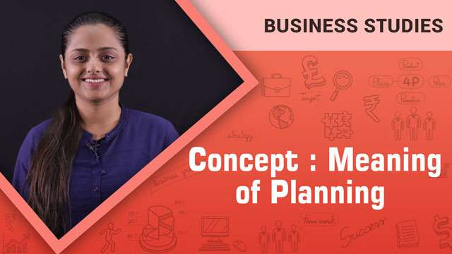 Meaning of Planning_Concept -