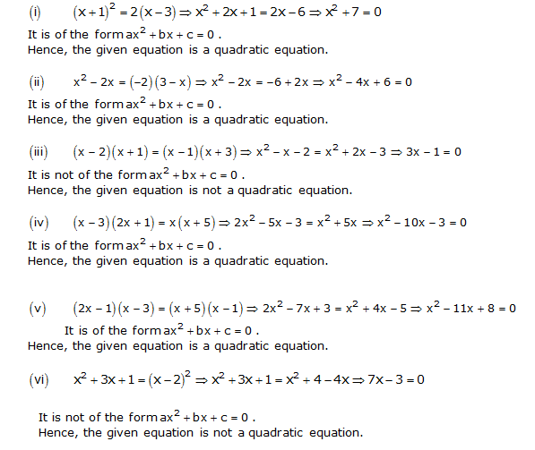 Chapter 4 Quadratic Equations - Solutions for Class 12 science