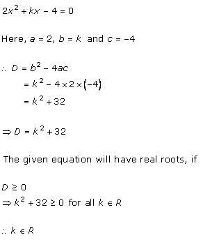 Rd-sharma Solutions Cbse Class 10 Mathematics Chapter - Quadratic Equations