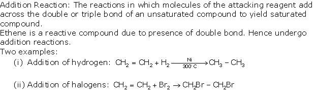 Frank Solutions Icse Class 10 Chemistry Chapter - C Unsaturated Hydrocarbons