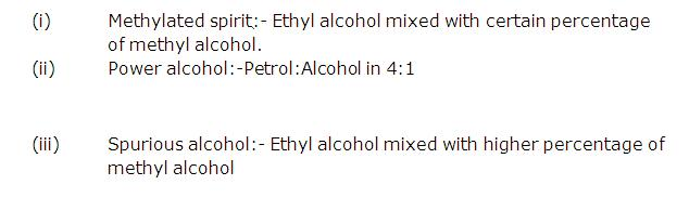 Frank Solutions Icse Class 10 Chemistry Chapter - E Alcohols
