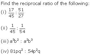Frank Solutions Icse Class 10 Mathematics Chapter - Ratio And Proportion