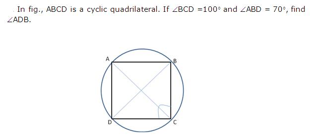 Frank Solutions Icse Class 10 Mathematics Chapter - Circles