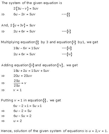 Rd-sharma Solutions Cbse Class 10 Mathematics Chapter - Pairs Of Linear Equations In Two Variables