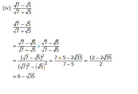 Frank Solutions Icse Class 9 Mathematics Chapter - Irrational Numbers