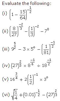 Frank Solutions Icse Class 9 Mathematics Chapter - Indices