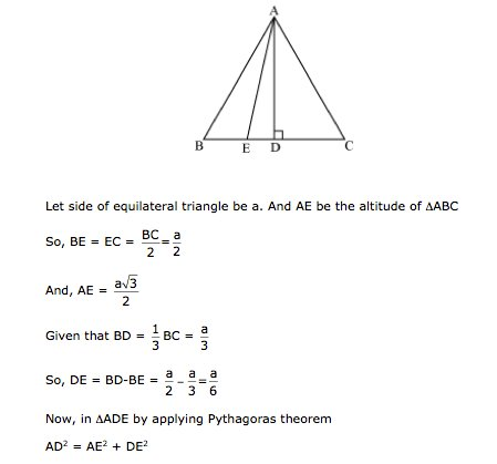 Frank Solutions Icse Class 9 Mathematics Chapter - Pythagoras Theorem