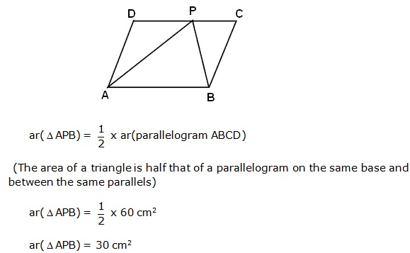 Frank Solutions Icse Class 9 Mathematics Chapter - Areas Theorems On Parallelograms