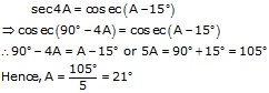 R-s-aggarwal-and-v-aggarwal Solutions Cbse Class 10 Mathematics Chapter - Trigonometric Ratios Of Complementary Angles