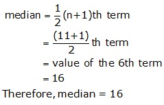 R-s-aggarwal-and-v-aggarwal Solutions Cbse Class 9 Mathematics Chapter - Mean Median And Mode Of Ungrouped Data