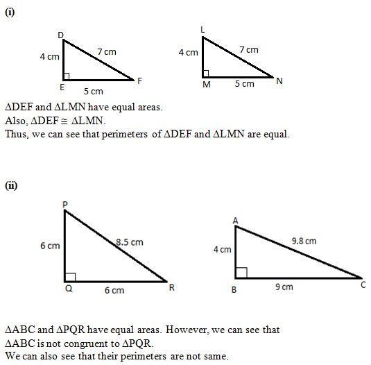 Ncert Solutions Cbse Class 7 Mathematics Chapter - Congruence Of Triangles