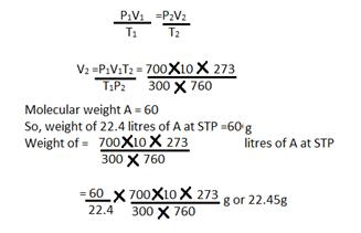 Selina Solutions Icse Class 10 Chemistry Chapter - Mole Concept And Stoichiometry
