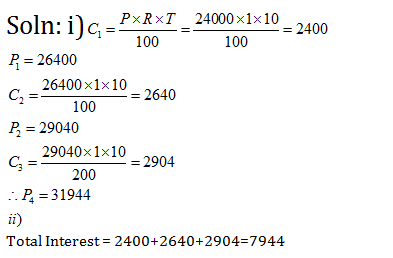 Frank Solutions Icse Class 10 Mathematics Chapter - Compound Interest