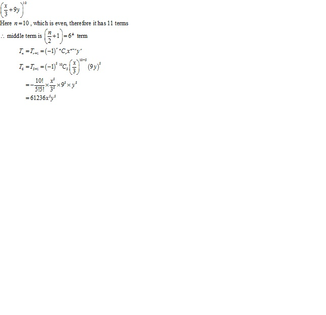 Rd-sharma Solutions Cbse Class 11-science Mathematics Chapter - Binomial Theorem